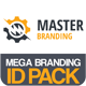 Master Business Mega Branding Pack - GraphicRiver Item for Sale