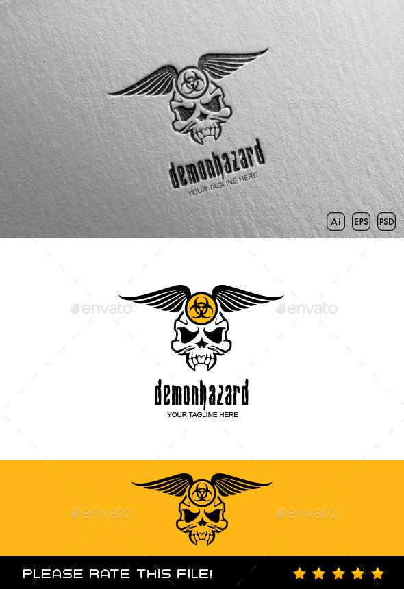 GraphicRiver Skull Logo 10176849