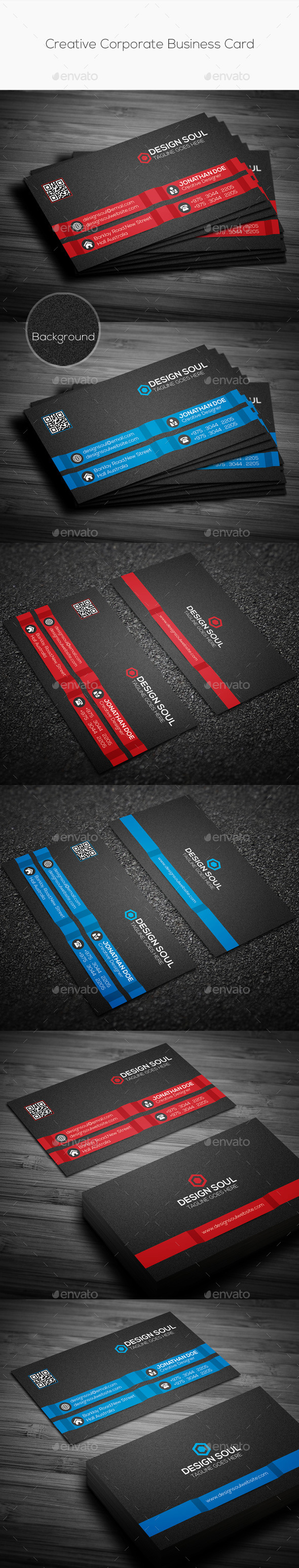 GraphicRiver Creative Corporate Business Card 10178104