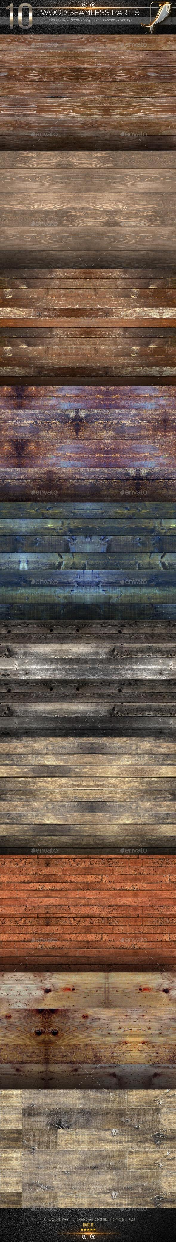 GraphicRiver 10 Wood Seamless Texture Part 8 10178558