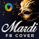 Mardi Gras Facebook Cover - GraphicRiver Item for Sale