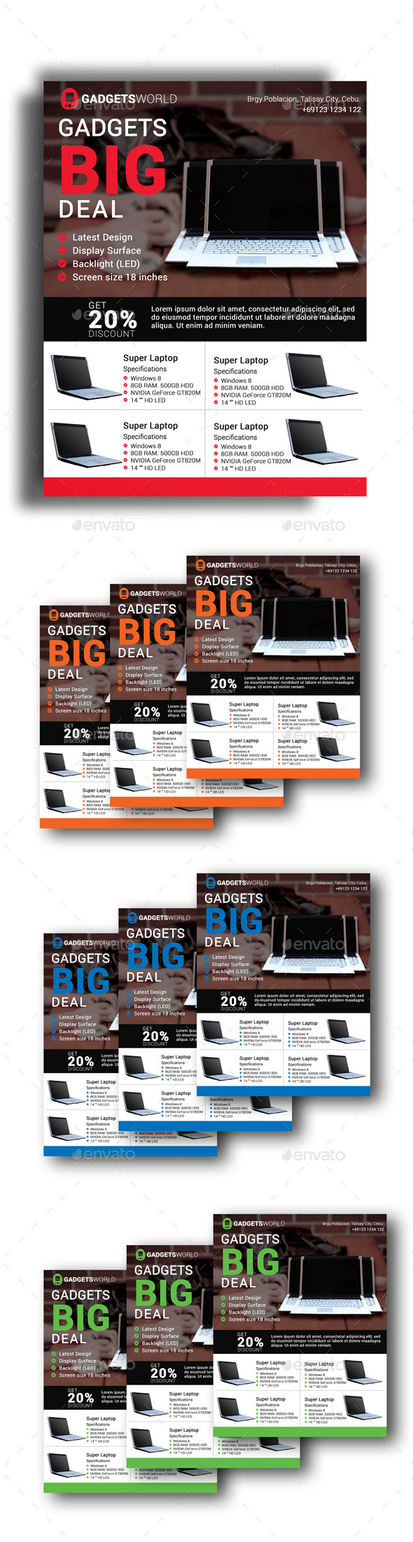 Gadget Deal Flyer