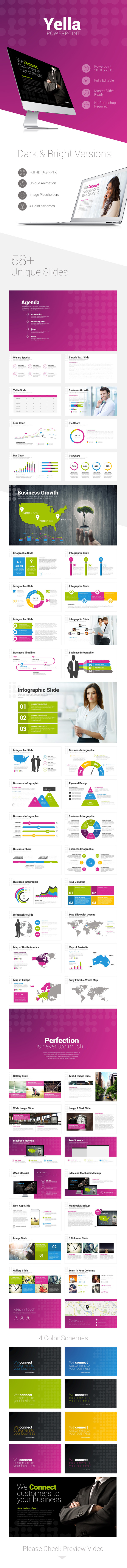 Yella Powerpoint Template