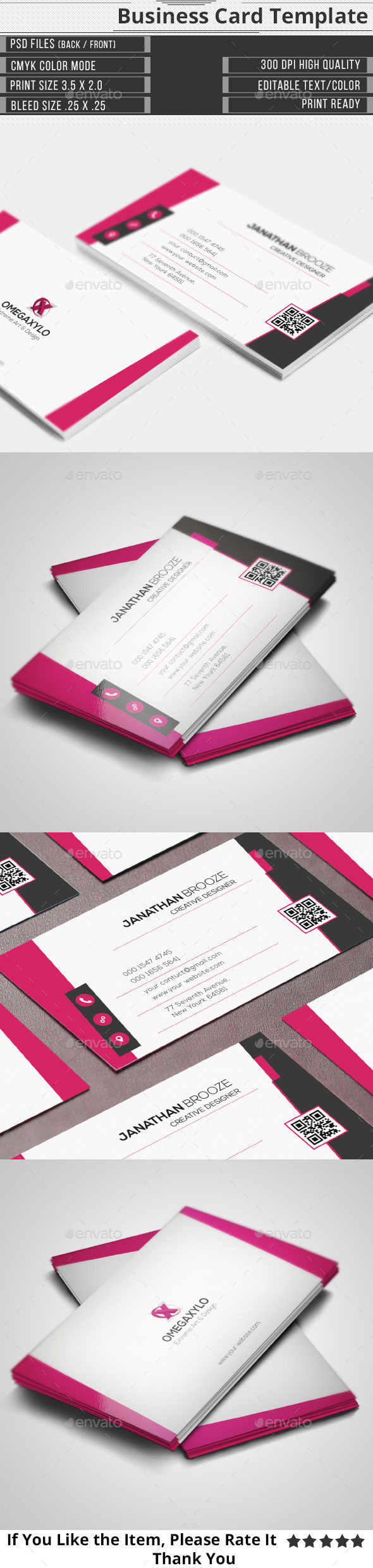 GraphicRiver Modern Corporate Business Card 10179865