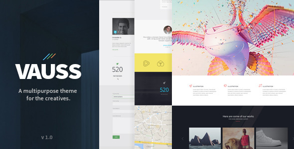 ThemeForest VAUSS MultiPurpose Creative Template 10180113