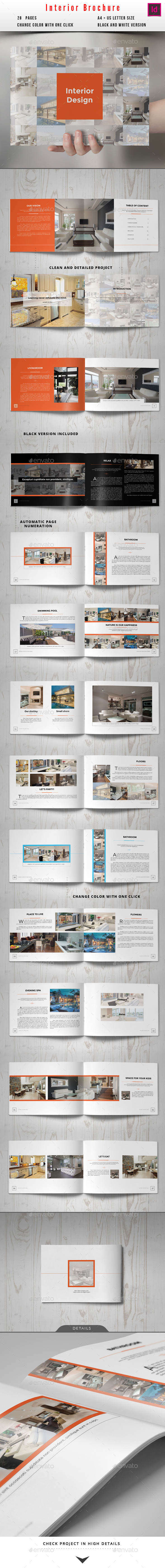 GraphicRiver Interior Brochure 10180122