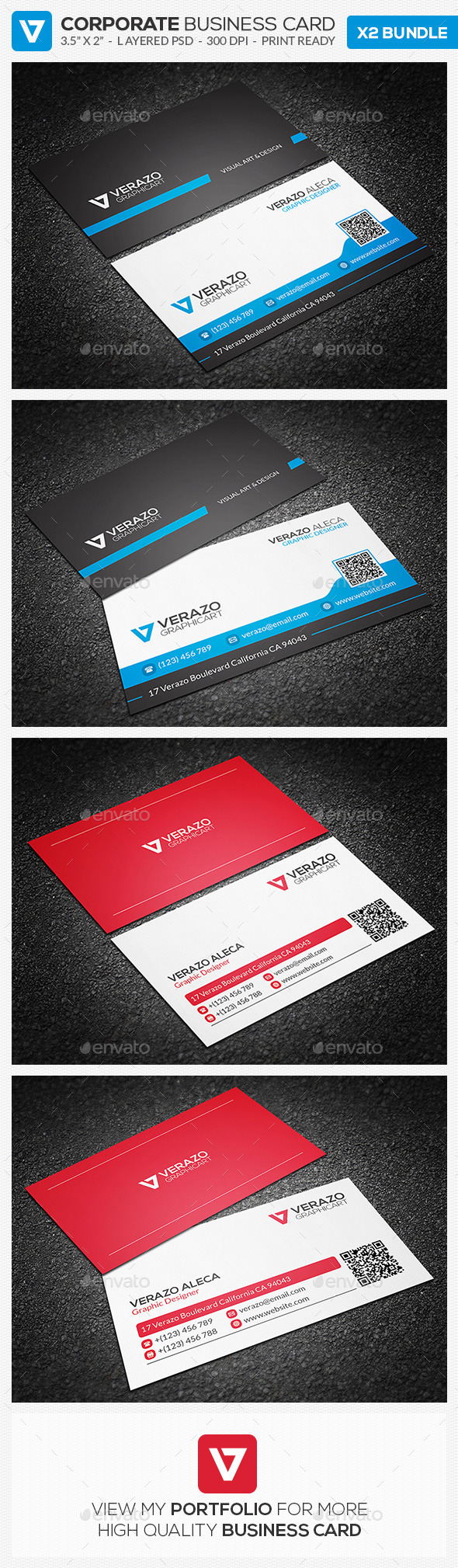 GraphicRiver Business Card Bundle 14 10180125