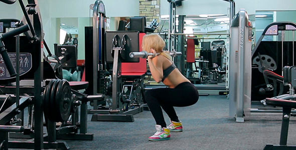 Squats and lunges 1