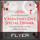 Valentine's Day Dinner for Two Flyer - GraphicRiver Item for Sale