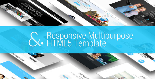 ThemeForest And Responsive MultiPurpose HTML5 Template 10181498