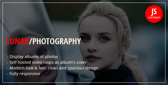 CodeCanyon Lunar jQuery Photography Portfolio 10181556