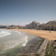 Biarritz France Timelapse City Surfers Sea 1 - VideoHive Item for Sale