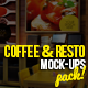 Coffee & Resto Mock-Ups Pack - GraphicRiver Item for Sale