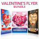Valentine's Flyer Bundle - GraphicRiver Item for Sale