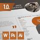 """""""Jack"""" Resume / CV - GraphicRiver Item for Sale"""