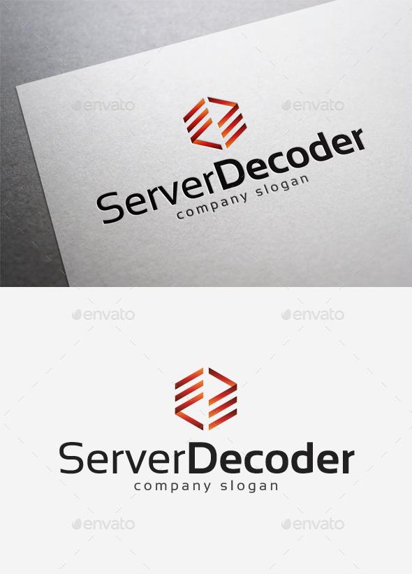 GraphicRiver Server Decoder Logo 10184410