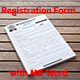 Registration Form With MS Word - GraphicRiver Item for Sale