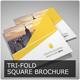 Square Tri-Fold Brochure - Multipurpose - GraphicRiver Item for Sale