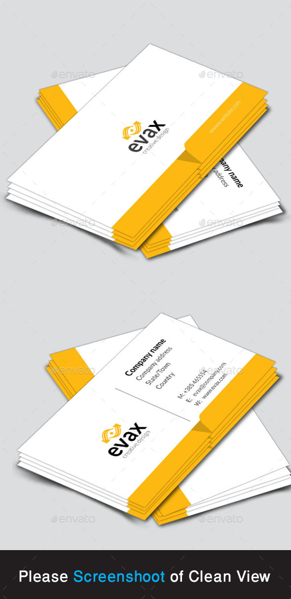 GraphicRiver Corporate Business Card 10184530