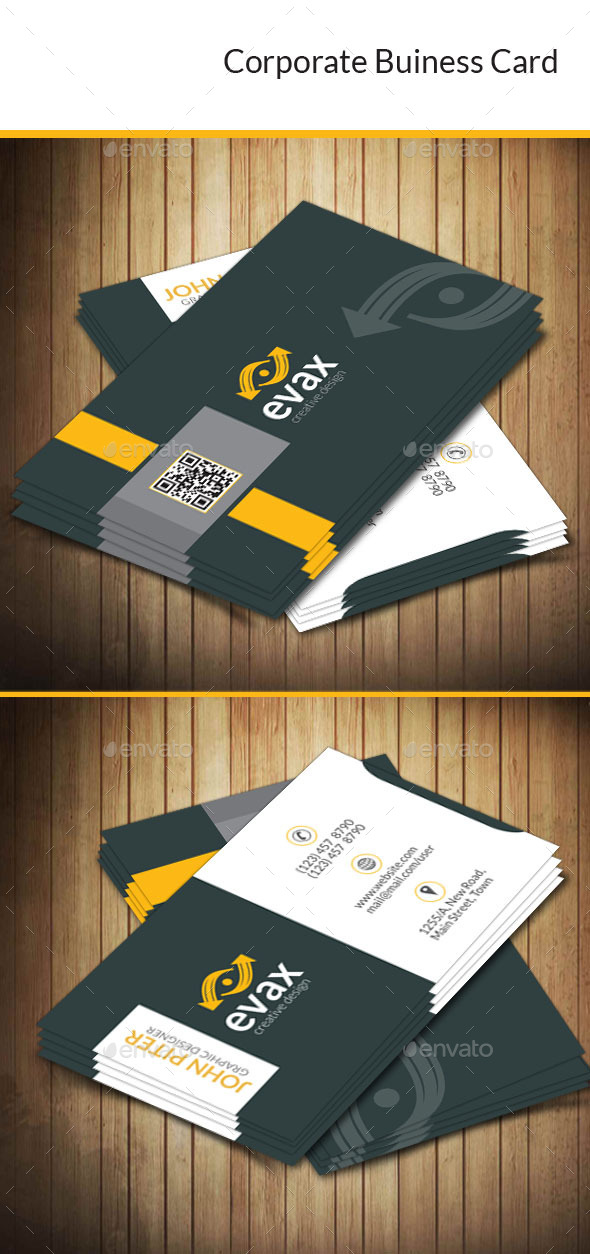 GraphicRiver Corporate Business Card 10185041