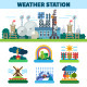 Weather Station Seasons - GraphicRiver Item for Sale