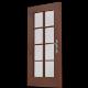 Door nr.03 (glass panels, double grilles; uv textu - 3DOcean Item for Sale