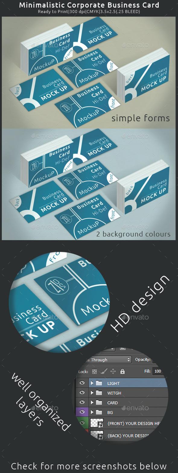 GraphicRiver Business Card MockUp 10185142