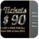 Special Party Event Ticket & Pass - GraphicRiver Item for Sale