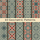 Set of Ten Geometric Patterns - GraphicRiver Item for Sale