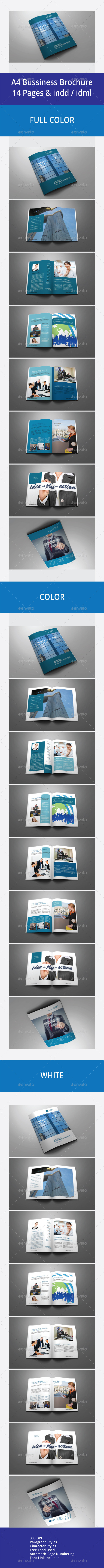 A4 Bussiness Brochure