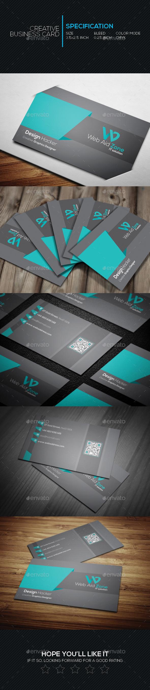 GraphicRiver Creative Business Card SL 11 10185331