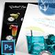 Cocktail Menu Flyer - GraphicRiver Item for Sale