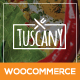 Tuscany - Restaurant Shop Creative WordPress Theme - ThemeForest Item for Sale