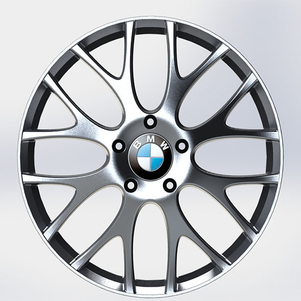 bmw m5 rim - 3DOcean Item for Sale