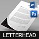 Retropolis Creative Letterhead - GraphicRiver Item for Sale