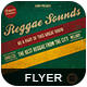 Reggae Sounds Flyer - GraphicRiver Item for Sale