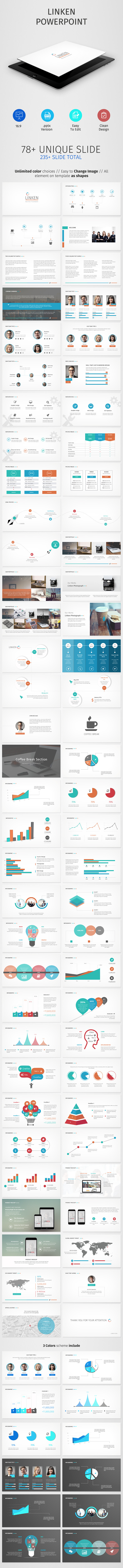 GraphicRiver Linken Powerpoint Presentation 10142404