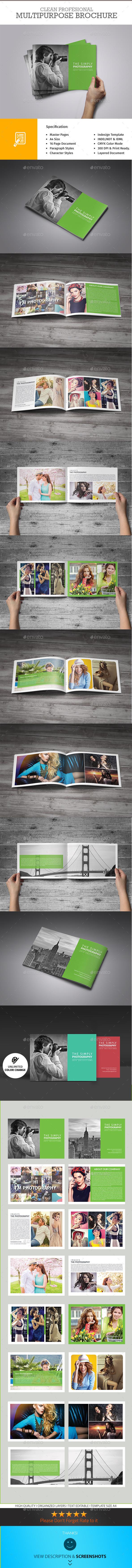 GraphicRiver Photography Portfolio Brochure 10138312