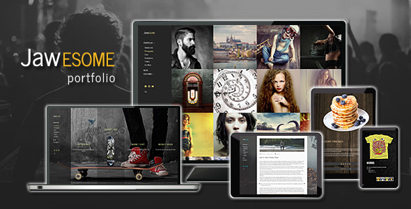 JaWesome - Creative WordPress Portfolio Theme