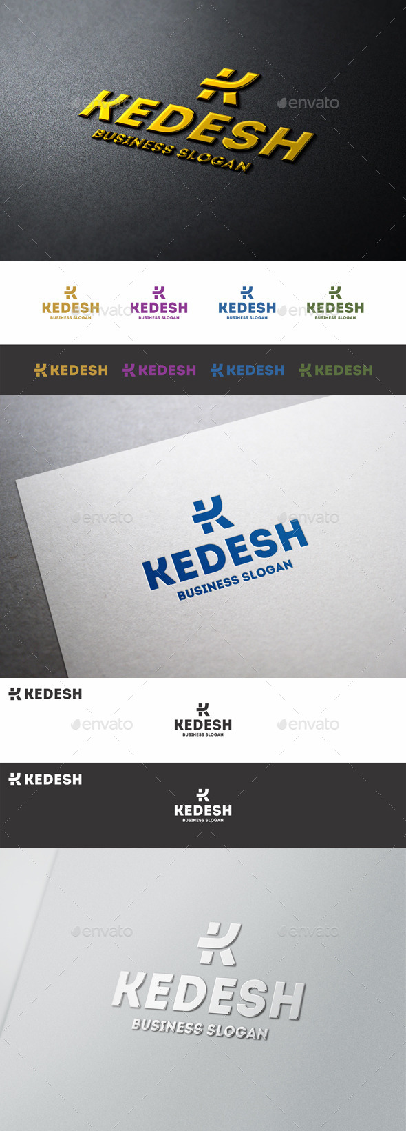 Letter K Logo Template Kedesh