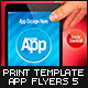 Mobile App Flyers Template v.5 - GraphicRiver Item for Sale