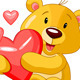 Valentine Day Bear - GraphicRiver Item for Sale