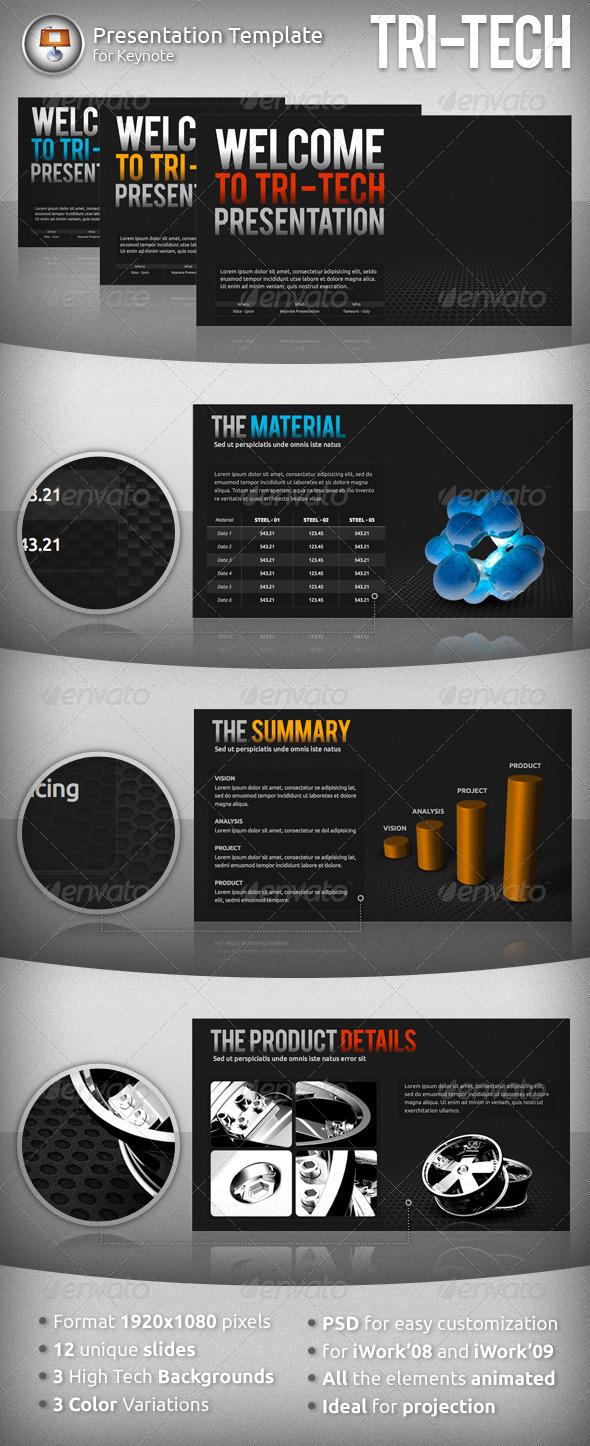 GraphicRiver Tri-Tech Keynote Presentation 950207