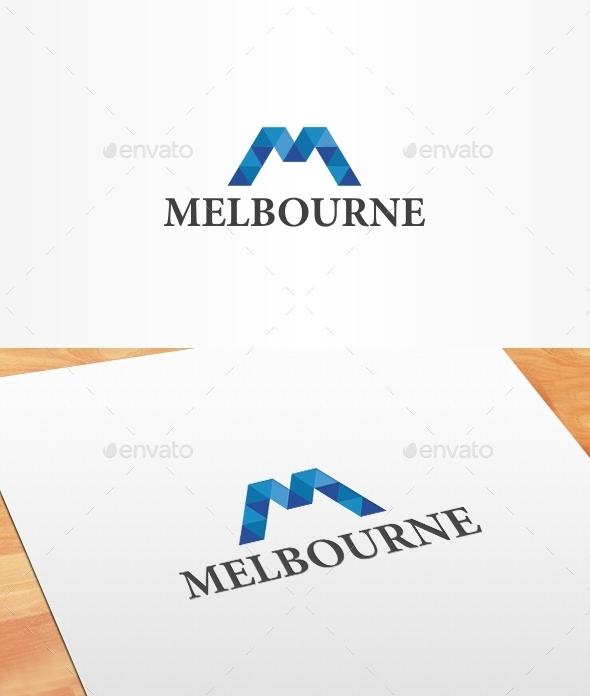 GraphicRiver Melbourne Logo Template 10186072
