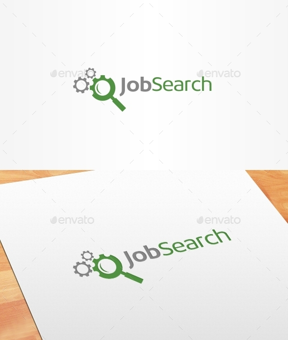 GraphicRiver Job Search Logo Template 10186083