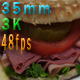 Slim Bread Sandwich And Green Apples - VideoHive Item for Sale
