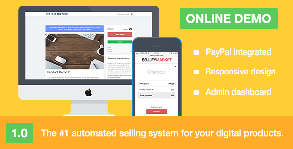 CodeCanyon Sellify Sell Your Digital Products 10122052