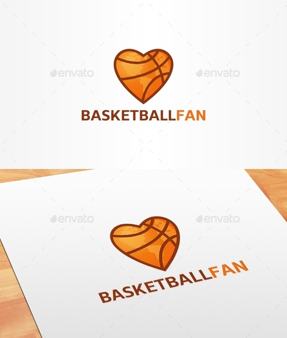 GraphicRiver Basketball Fan Logo Template 10186095
