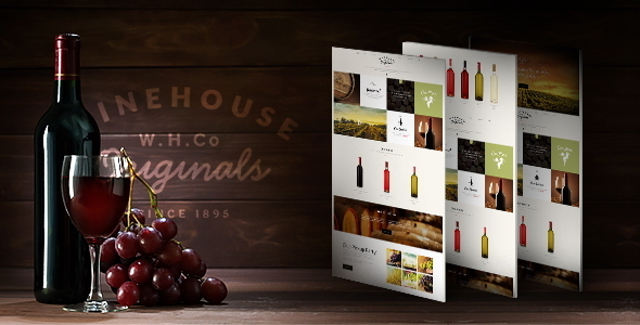ThemeForest Wine House Winery & Restaurant Theme 10186096