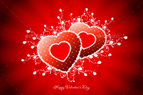 GraphicRiver Valentines Day Greeting Card 10186145